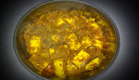 Paneer Kolhapuri Recipes