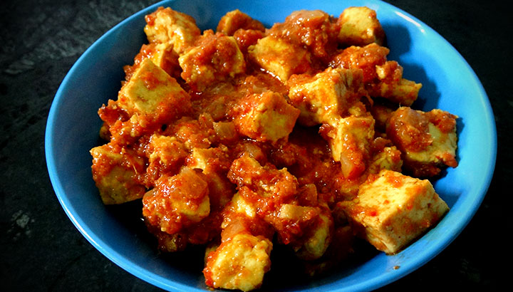 tomato paneer food in hindi