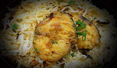 Punjabi Fish Biryani Recipe in Hindi