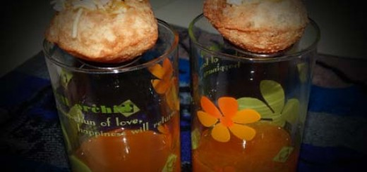 Fruit Pani Puri Drink Shots Recipe in Hindi