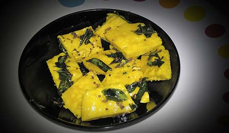 Khaman Dhokla Recipe in Hindi