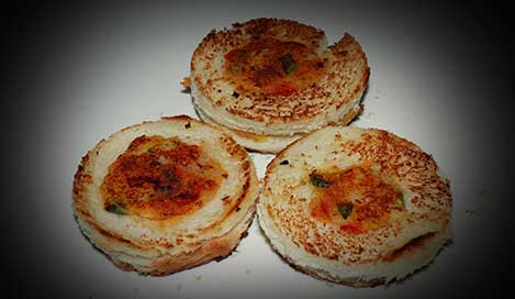 Bread Cheese Ring Recipe In Hindi