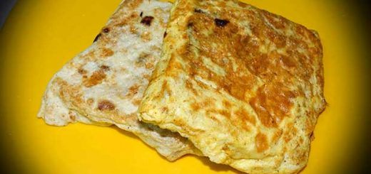 Stuffed Bread Omelette Recipe In Hindi