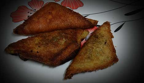Bread Samosa Recipe In Hindi